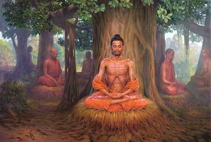 Đức Phật Thích Ca Mâu Ni Tu Khổ Hạnh